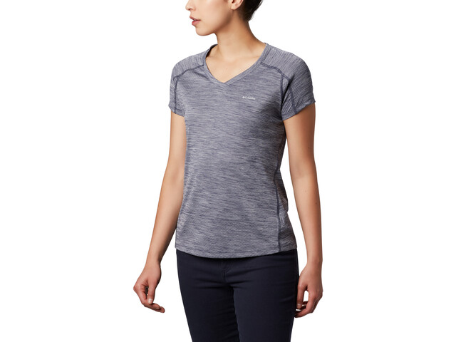 Columbia Zero Rules T shirt Femme, nocturnal heather